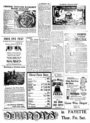 Fayette County Leader from Fayette, Iowa on February 20, 1958 · Page 7