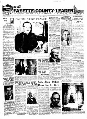 Fayette County Leader from Fayette, Iowa on February 27, 1958 · Page 1