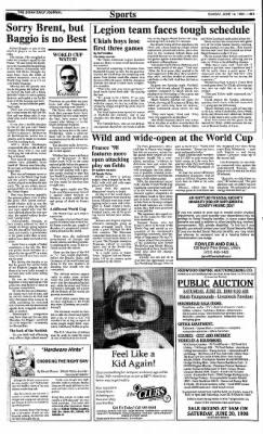 Ukiah Daily Journal from Ukiah, California on June 14, 1998 · Page 13