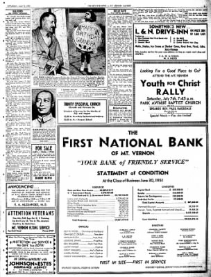 Mt. Vernon Register-News from Mt Vernon, Illinois on July 7, 1951 · Page 3