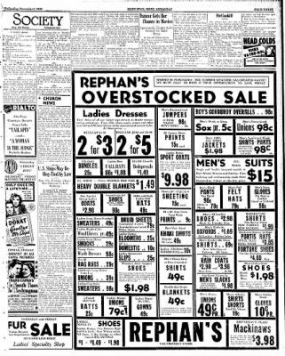 Hope Star from Hope, Arkansas on November 8, 1939 · Page 3