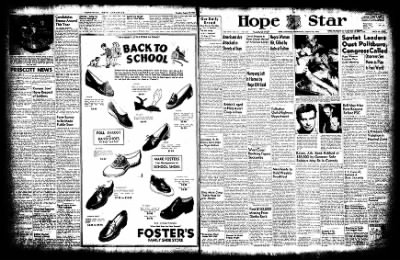 Hope Star from Hope, Arkansas on August 20, 1952 · Page 1
