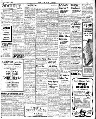 Hope Star from Hope, Arkansas on February 17, 1942 · Page 3