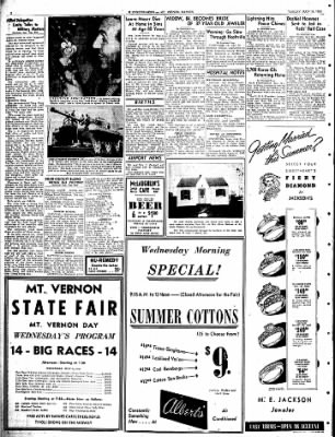 Mt. Vernon Register-News from Mt Vernon, Illinois on July 10, 1951 · Page 4