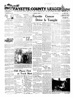 Fayette County Leader from Fayette, Iowa on April 24, 1958 · Page 1