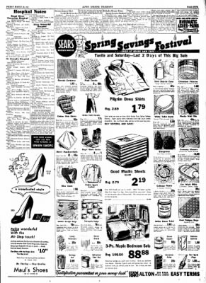 Alton Evening Telegraph from Alton, Illinois on March 28, 1952 · Page 5