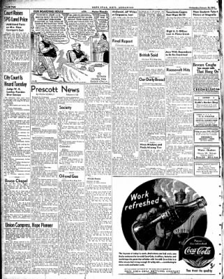 Hope Star from Hope, Arkansas on February 18, 1942 · Page 2