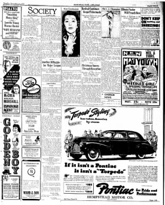 Hope Star from Hope, Arkansas on November 14, 1939 · Page 3