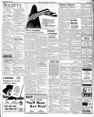 Hope Star from Hope, Arkansas on February 21, 1942 · Page 3