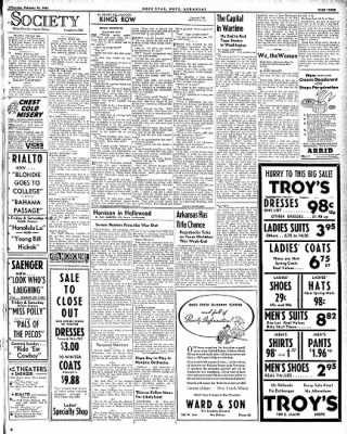 Hope Star from Hope, Arkansas on February 26, 1942 · Page 3