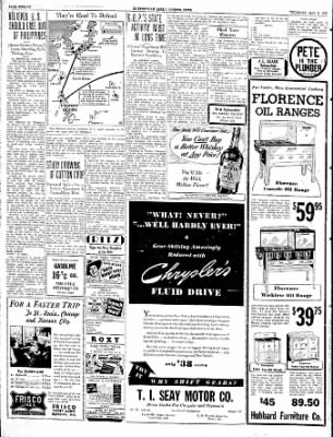The Courier News from Blytheville, Arkansas on May 9, 1940 · Page 12