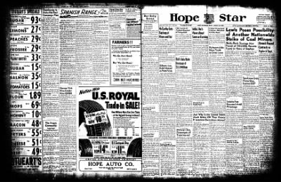 Hope Star from Hope, Arkansas on August 22, 1952 · Page 1