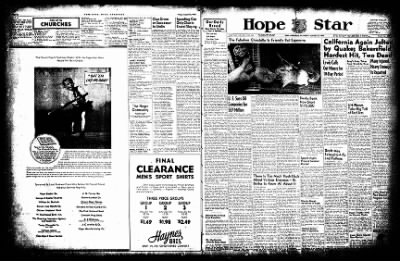 Hope Star from Hope, Arkansas on August 22, 1952 · Page 14