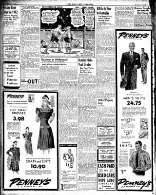 Hope Star from Hope, Arkansas on March 11, 1942 · Page 7