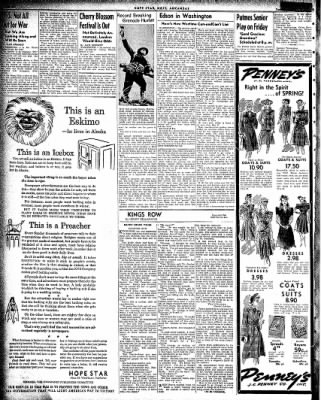 Hope Star from Hope, Arkansas on March 17, 1942 · Page 6