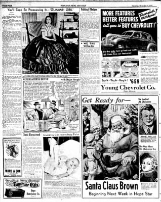 Hope Star from Hope, Arkansas on December 9, 1939 · Page 4