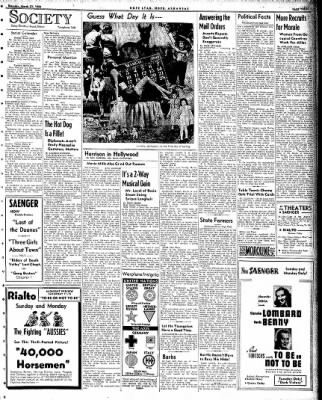 Hope Star from Hope, Arkansas on March 21, 1942 · Page 3