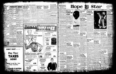 Hope Star from Hope, Arkansas on August 25, 1952 · Page 18