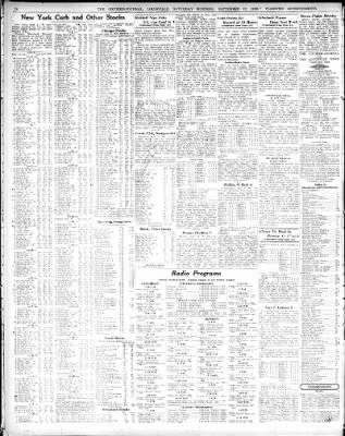 The Courier Journal From Louisville Kentucky On September 12 1936