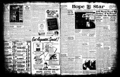 Hope Star from Hope, Arkansas on August 29, 1952 · Page 1