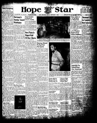 Hope Star from Hope, Arkansas on September 1, 1952 · Page 1
