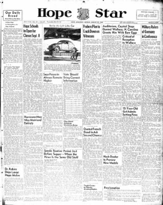 Hope Star from Hope, Arkansas on August 31, 1948 · Page 1