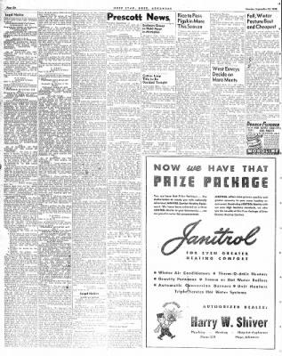 Hope Star from Hope, Arkansas on September 13, 1948 · Page 6