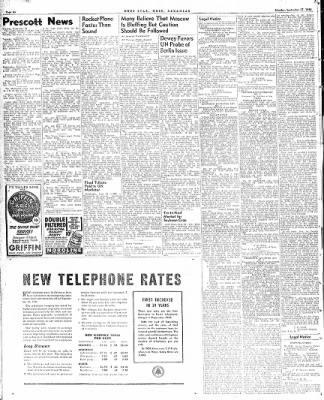 Hope Star from Hope, Arkansas on September 27, 1948 · Page 6