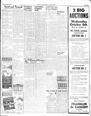 Hope Star from Hope, Arkansas on October 4, 1948 · Page 3