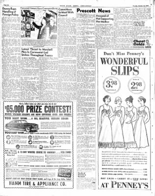 Hope Star from Hope, Arkansas on October 12, 1948 · Page 6