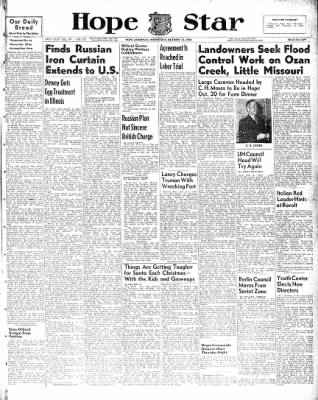 Hope Star from Hope, Arkansas on October 13, 1948 · Page 1