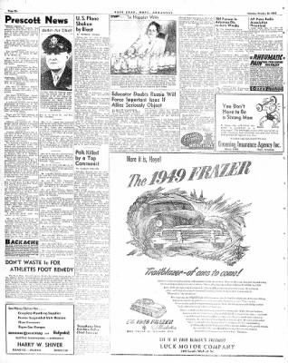 Hope Star from Hope, Arkansas on October 18, 1948 · Page 6