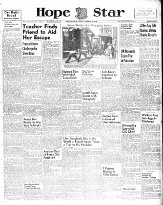 Hope Star from Hope, Arkansas on October 19, 1948 · Page 1