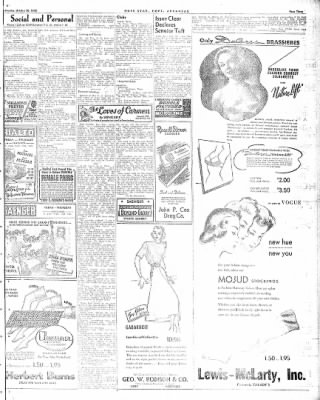 Hope Star from Hope, Arkansas on October 20, 1948 · Page 3