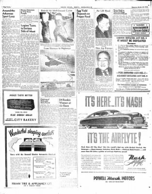 Hope Star from Hope, Arkansas on October 21, 1948 · Page 12