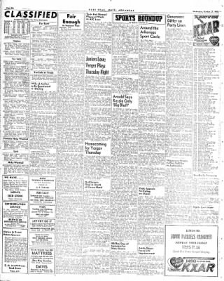 Hope Star from Hope, Arkansas on October 27, 1948 · Page 5