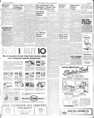 Hope Star from Hope, Arkansas on October 28, 1948 · Page 9