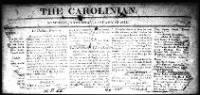 Sample The Carolinian front page