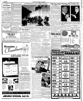 Hope Star from Hope, Arkansas on August 30, 1938 · Page 6