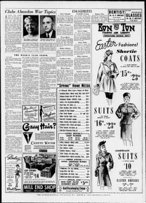 The Courier Journal From Louisville Kentucky On March 31 1946