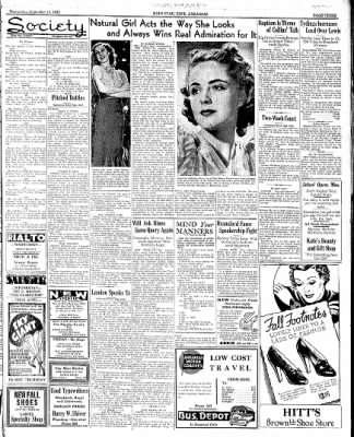 Hope Star from Hope, Arkansas on September 14, 1938 · Page 3