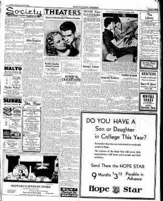 Hope Star from Hope, Arkansas on September 16, 1938 · Page 3