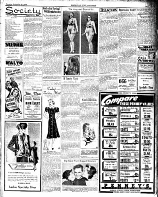 Hope Star from Hope, Arkansas on September 20, 1938 · Page 3