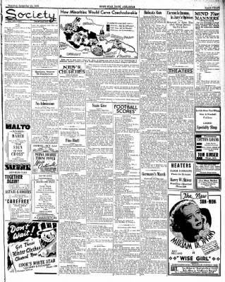 Hope Star from Hope, Arkansas on September 24, 1938 · Page 3