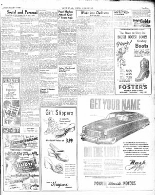 Hope Star from Hope, Arkansas on December 7, 1948 · Page 3