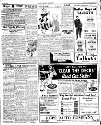 Hope Star from Hope, Arkansas on September 29, 1938 · Page 2