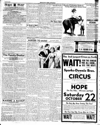 Hope Star from Hope, Arkansas on October 4, 1938 · Page 2
