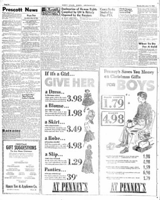Hope Star from Hope, Arkansas on December 13, 1948 · Page 6