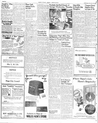 Hope Star from Hope, Arkansas on December 15, 1948 · Page 2