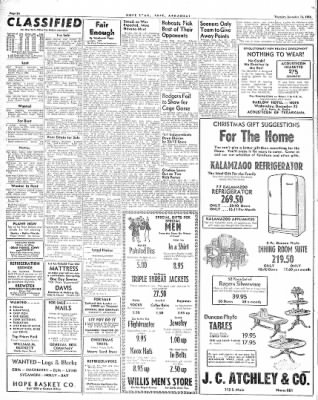 Hope Star from Hope, Arkansas on December 16, 1948 · Page 6